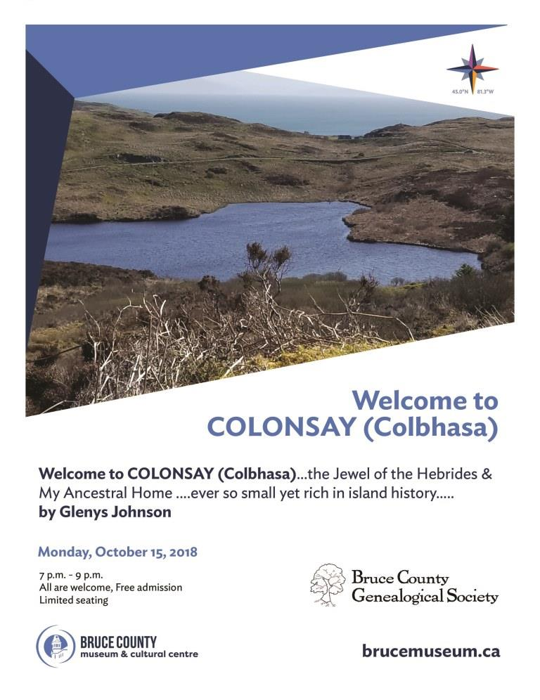 2018 Colonsay