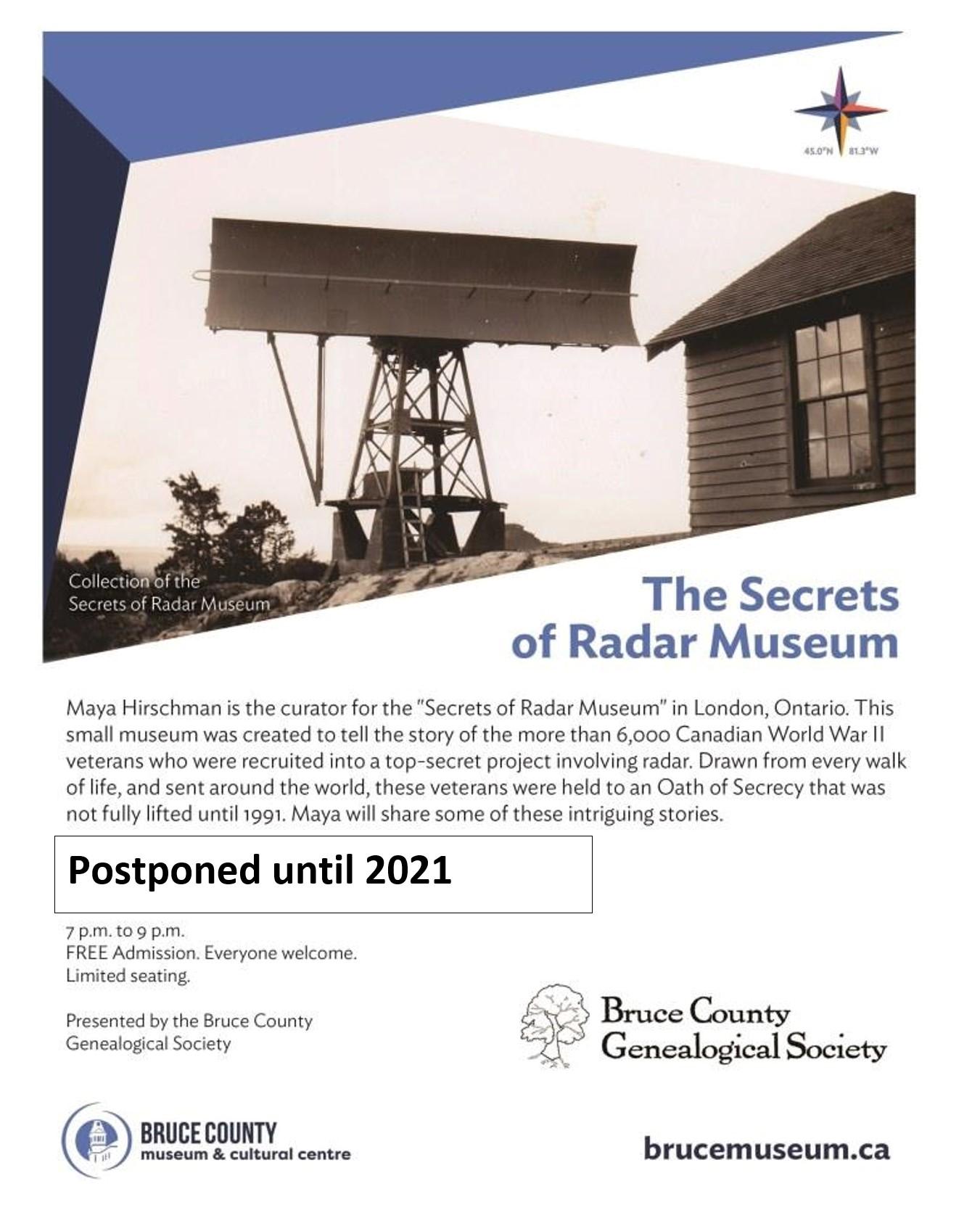 2021 Radar Museum